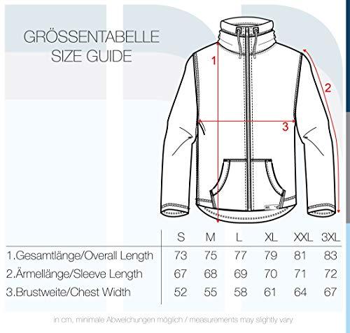 !Solid Luki Herren Fleecejacke Sweatjacke Jacke mit Stehkragen und Melierung, Größe:S, Farbe:Grey Melange (8236) - 6