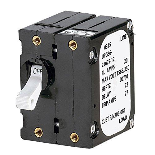 Paneltronics \'A\' Frame Magnetic Circuit Breaker - 25 Amps - Double Pole