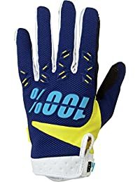 100% Airmatic - Gants - jaune/bleu 2017 gants velo hiver