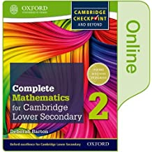 Complete Mathematics for Cambridge Lower Secondary Book 2: Online Student Book