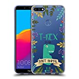 Head Case Designs T-Rex Seelen Tiere Abbildungen Soft Gel Hülle für Huawei Honor 7C / Enjoy 8