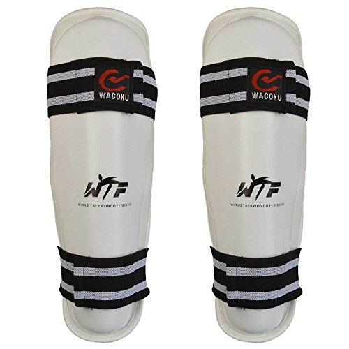 WACOKU WTF Schienbeinschutz für Taekwondo xl