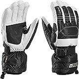 Leki hombres 634-82033 GTX guantes de esquí de montaña expedición S colour negro-blanco, color Blanco - negro-blanco, tamaño 10,5