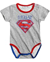 Superman Babies Body 2016 Collection - gris