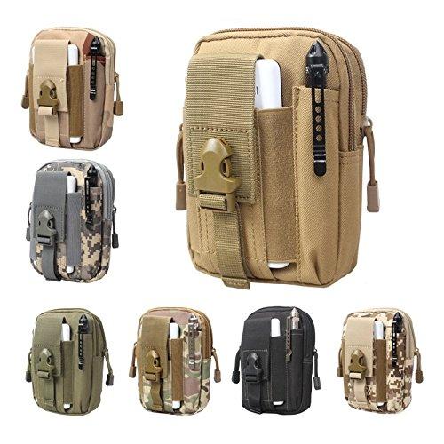 online retailer b9281 dd59c Aeoss Waterproof Outdoor Sport Pouch Belt Waist Phone Bag Fanny Case Pack  Money Pocket (ACU)