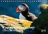 PAPAGEIENTAUCHER - Clowns der Nordmeere (Tischkalender 2018 DIN A5 quer): Rot-bunter Schnabel, watschelnder Gang, schwarz-weißes Gefieder, so kann man ... [Kalender] [Apr 09, 2017] Wagner, Nicole