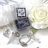 EinsSein® 1x Schlüsselanhänger Hochzeitsring Gastgeschenke Hochzeit Gastgeschenk vintage box kartonage set ring schlüssel