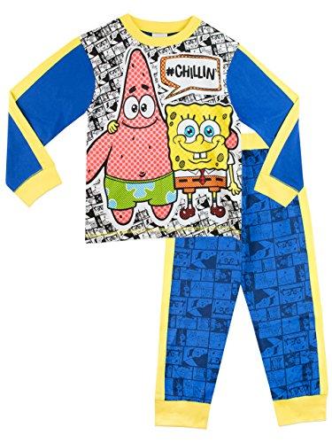 Bob Esponja - Pijama para Niños - SpongeBob SquarePants- 4 a 5 Años