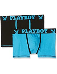 Playboy 40h041, Boxer Homme, (lot de 2)