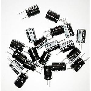 10Pcs Capacitor 101 (0.1uF)/50VDC