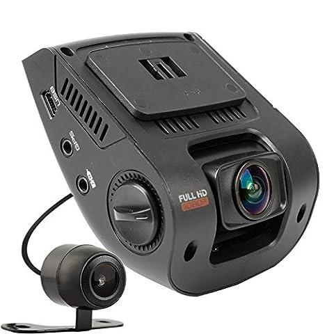REXING V1P Dashcam HD 1080P double avant et arrière à