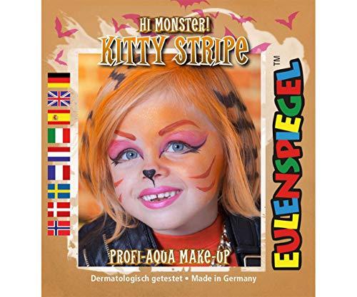 Festlegen Von Farben Für Face - Gestreifte Katze, Eulenspiegel, EU 204788