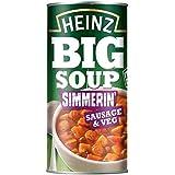 Heinz Salchicha Grande Y Sopa De Verduras 500g (Paquete de 6)