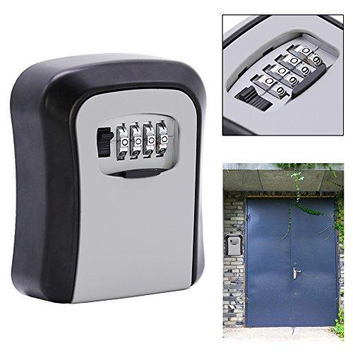 Hengda® Key Safe für Wandmontage Keykeeper Schlüsseltresor Schlüsselsafe Schlüsselbox Zahlenschloss Kasten (Key Storage Lock-boxen)