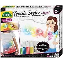 Lena 42597 - Textile Styler Spray mit 4 Sprühfarben, Waschmaschinenfest
