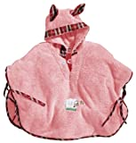 Morgenstern, Badeponcho, 1-3 Jahre (one size), Farbe rosa, Sleepy Sheepy, aus super soft Microfaser