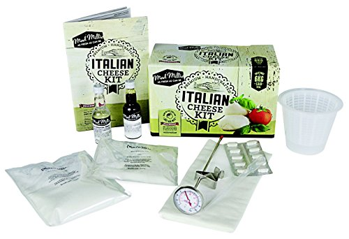 Italian Cheese Kit (10 Batches - 6kg) | Equipment and Ingredients | Mozzarella, Burrata, Ricotta, Mascarpone, Bocconcini