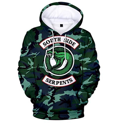 DealTrade Erwachsene Jugendliche Kapuzenpullover Hoodie Southside Sweatshirt Jughead -