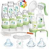 MAM All-In-One Vorteilspack Starterset 23 tlg. Anti-Colic Flaschen Set Milchpumpe