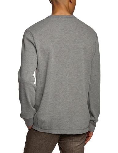Eddie Bauer Herren Langarmshirt 332140 Grau (grau mel grau mel)