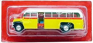 Promocar-Ford Thames ET7-1952-Escala 1/43, acbus026, Amarillo/Blanco/Rojo