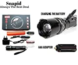 Best Flashlight Waterproofs - Jeval SWAT Multifunction Rechargeable LED 50W Flashlight Torch Review