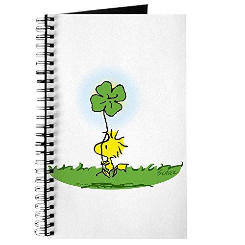 CafePress-Woodstock Shamrock-Spiralbindung Journal Notizbuch, persönliches Tagebuch, liniert
