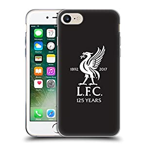 Official Liverpool Football Club Away Goalkeeper Shirt Kit 2017/18 Soft Gel Case for Apple iPhone 7 by Head Case Designs