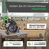 Bio Green Elektrogebläse / Gewächshausheizung mit Digital-Thermostat - 4