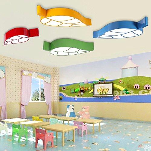 gqlb-stanza-dei-bambini-lampada-da-soffitto-led-luce-di-foglia-24w-camera-da-letto-soggiorno-luci-58
