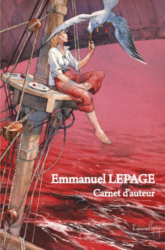 Carnet d'auteur Emmanuel Lepage version limitée