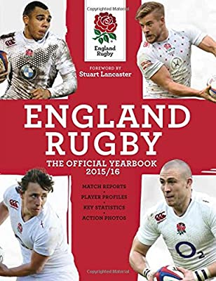 England Rugby: The Official Yearbook 2015/16 (England Rugby Yearbook) by Carlton Books Ltd