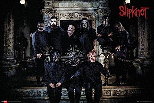 Empire, Poster degli Slipknot, Multicolore (Bunt), 91,5 x 61 cm