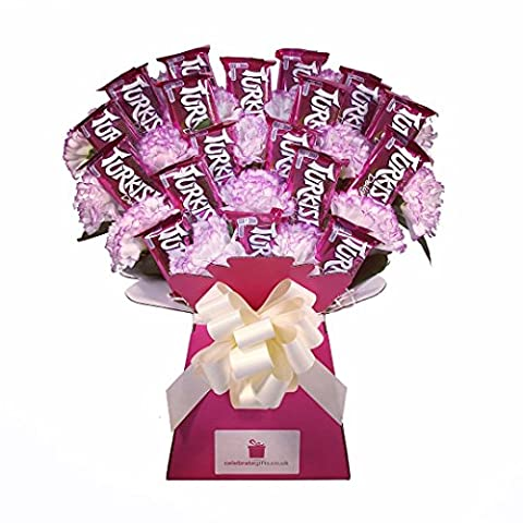 Turkish Delight Chocolate Bouquet - Sweet Hamper Tree Explosion - Perfect Gift