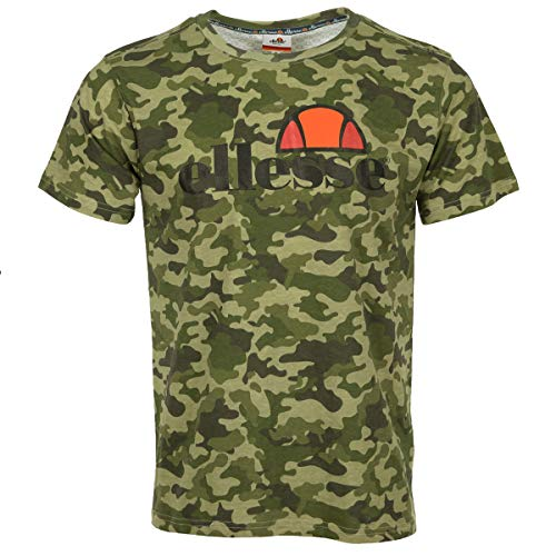 Ellesse Eh H Tmc OAP Camo Kaki, T-shirt - L