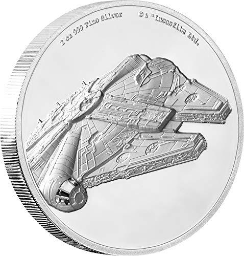 Azteken Kalender 2$ Silbermünze 2 Unzen Niue Island 2019 Münzen International Gedenkmünzen