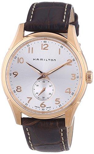 Hamilton XL Leather Quartz Analog Men's Wrist Watch H38441553