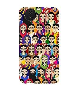 PrintVisa Designer Back Case Cover for Micromax Canvas Android A1 AQ4501 :: Micromax Canvas Android A1 (black feeling heart purelove missyou)