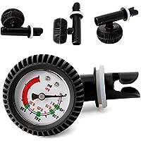 Starter Medidor de Presión de Aire 0-5.08 PSI Barómetro para Barco inflable SUP Board Raft