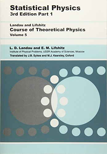 Statistical Physics: Volume 5 (Course of Theoretical Physics) por L. D. Landau