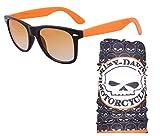 Classic Orange With Black Frame Sunglass...