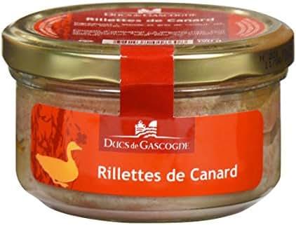 Ducs de Gascogne Rillettes de Canard 120 g