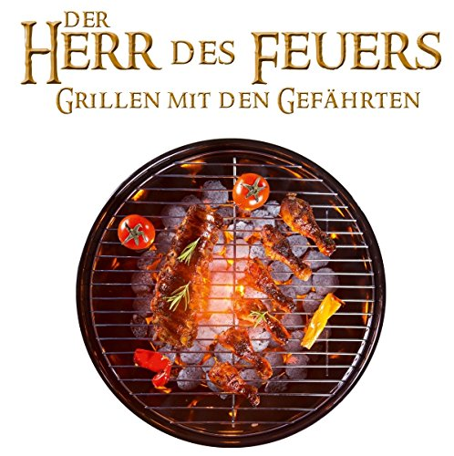 51dmevmNIkL - Herr des Feuers Grillen mit den Gefährten BBQ Tshirt L###Schwarz
