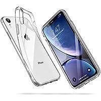 """ESR Funda para iPhone XR, Funda para Suave TPU Gel Ultra Fina Protección a Bordes y Cámara Compatible con Carga Inalámbrica Enjaca Apple iPhone XR de 6.1""""-Transparente"""