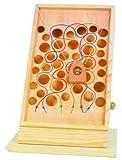 Kletterpfad / Geschicklichkeitsspiel aus Holz mit bunt eingezeichneten Pfaden,...
