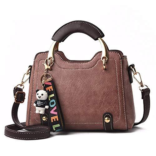 Handtasche Multifunktionsdesign Elegante Einkaufstasche Für Schule Arbeit Reise Einkaufen Mode Umhängetasche Vintage