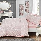 100% Baumwolle Moderne Pink Double Queen Bettwäsche Bettdecke/Bettbezug Set 4-teilig