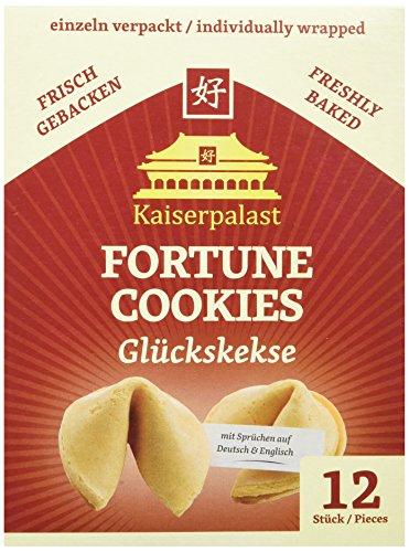 Kaiserpalast Glückskekse, 6er Pack à 12 Stück (6 x 72 g Packung)
