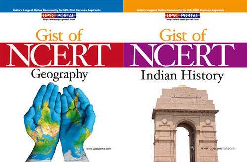 Gist of NCERT - Geography / Indian History (Set of 2 Books)...