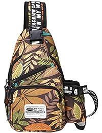 712a443d41a6e Vbiger Oxford Umhängetasche Sling Bag Brusttasche Cross Body Tasche